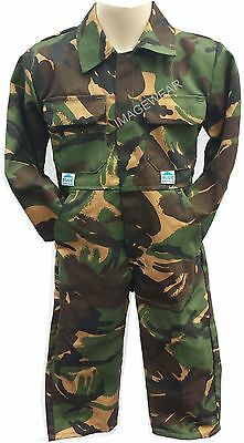 Kids New Army Boys /girls Boilersuit Overall Camouflage Quality