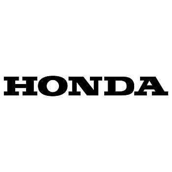 Sticker Honda Decal Size (100mm x 12mm) New!! motorcycle motorsport sticker