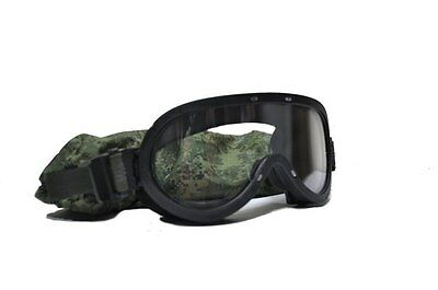 Original Russian Army 6Б50 Ballistic Goggles 6B50 Ratnik New with MOLLE Pouch