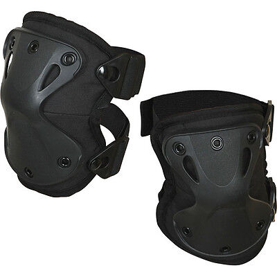 """Russian Army Spetsnaz Knee Pad Protection SPLAV """"X-Form"""" Black Airsoft"""