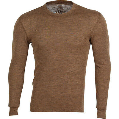 Mongolian Camel Wool blend Longsleeve Shirt Thermal Underwear