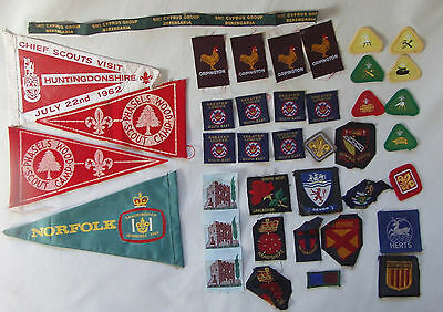 Boy Scouts Badges Pennants Patches