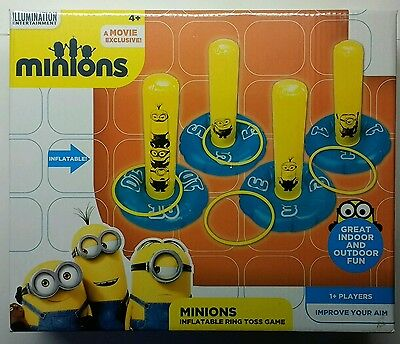 Minions Inflatable Ring Toss Game