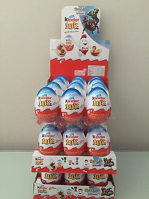 New Kinder Joy with Surprise Eggs in Toy & Chocolate For Boys - 10 x Eggs