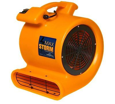 Max Storm Pro Janitorial Durable Lightweight Carpet Drying Fan Blower Air Mover