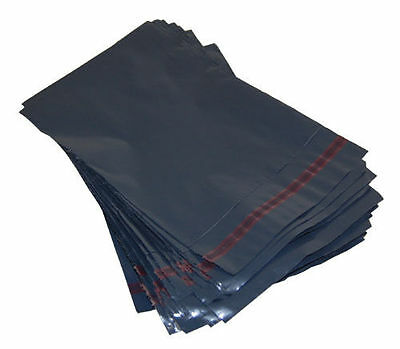 50x assorted mixed grey strong  self seal plastic mailing bags various sizes