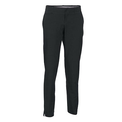 Under Armour Ladies Links Golf Trousers Black **Brand New**