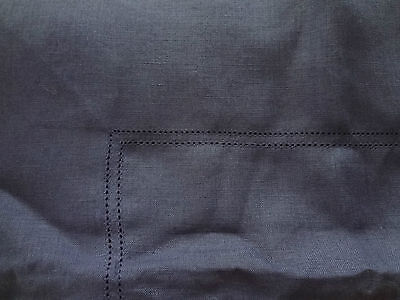 NWOT Williams Sonoma pure linen double Hemstich table cloth RRP $150
