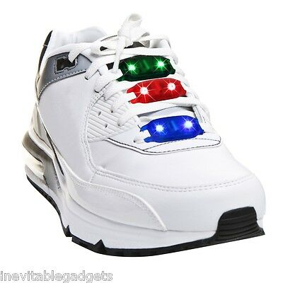Blink Stepz LED Flash Lights for your Shoelace Shoe Laces Party Disco Skates