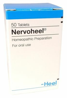 NERVOHEEL N HEEL Tabs *50 Homeopathy Nervousness Sleep Disorder insomnia stress