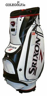 Srixon Tour Cart Golf Bag - White/Black