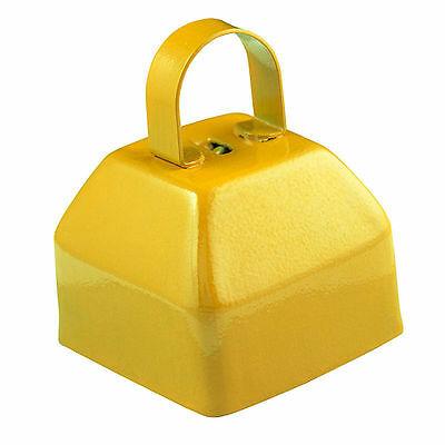 GoGo Cowbells Plain Cow Bell Small Yellow