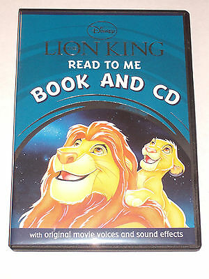 Disney The Lion King - read to me book and cd