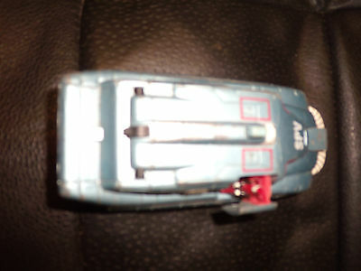 Captain Scarlet SPV Vehicle by ITC Entertainment Group 1993 Diecast WITHOUTTYREs