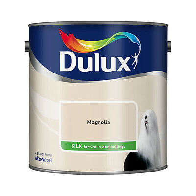 Dulux Magnolia Smooth Creamy Emulsion Silk Paint 2.5L For Walls and Ceiling