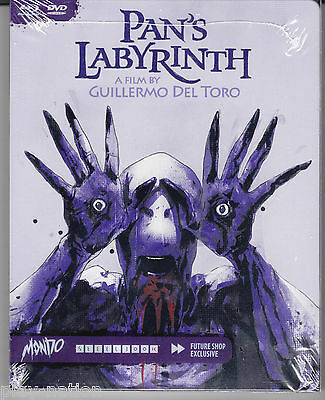 Pan's Labyrinth Mondo X SteelBook (Blu-Ray+DVD) **NEW**