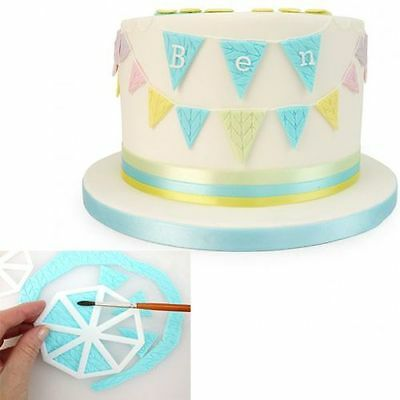 FMM Easy Bunting Cutters Sugarcraft cake decorating    Next Day Despatch