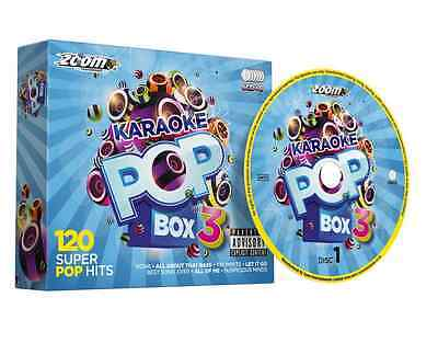 Karaoke Party CD Pack 6 CDs 120 Songs with Lyrics Pop Audio Songs NEW
