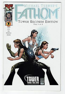 Michael TURNER'S Fathom #12 Tower Records Exclusive VARIANT VF/NM or better