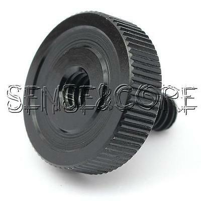 """22mm 1/4""""Male to 1/4""""Female Socket Screw Adapter For Tripod Camera Bracket Stand"""