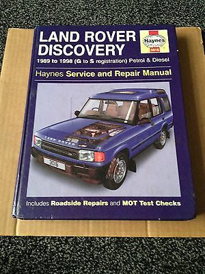 Land Rover Discovery Petrol and Diesel Service and Repair Manual: 1989-1998