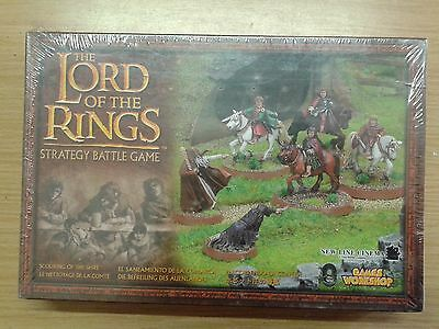LOTR Lord Of The Rings SCOURING OF THE SHIRE  metal OOP sealed