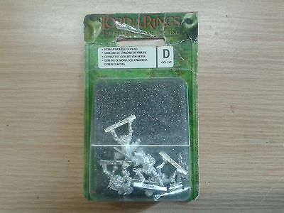 LOTR Lord Of The Rings MORIA ARMOURED GOBLIN WARRIORS metal OOP sealed