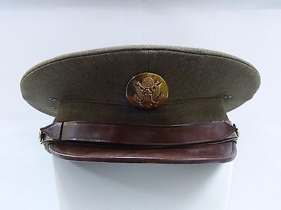 Wwii Us Army Enlisted Man Visor Cap