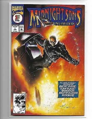 Midnight Sons Unlimited #1 Ghost Rider