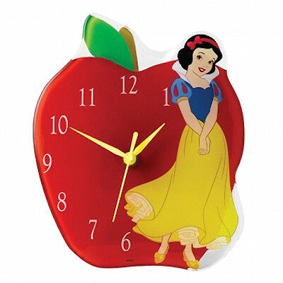 Disney Enchanted Collection A25234 Snow White Clock New And Boxed