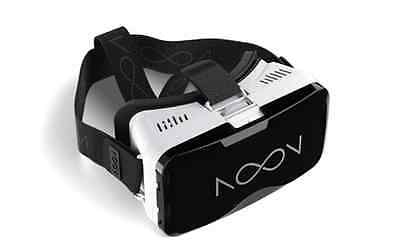 NextCore Noon VR Headset for Android/iOS Smartphones, [WHITE]