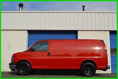 2014 Chevrolet Express Express 1500 AWD 4WD 5.3 V8 42,000 Mls N0T Savana Full Power Options ABS Traction Tow Package Rear View Camera Lined Interior More
