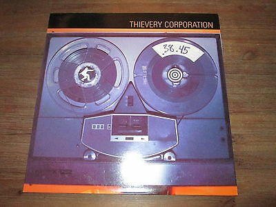 """12"""" Vinyl Thievery Corporation – .38.45 (A Thievery Number) • 4AD • 1998 • NM"""