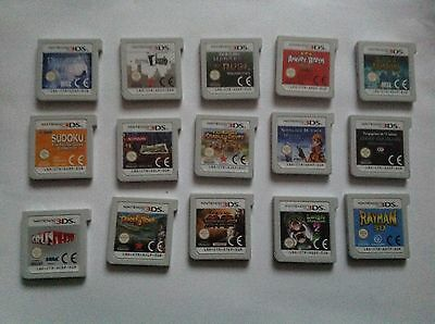 Nintendo 3Ds Games (15 Games)
