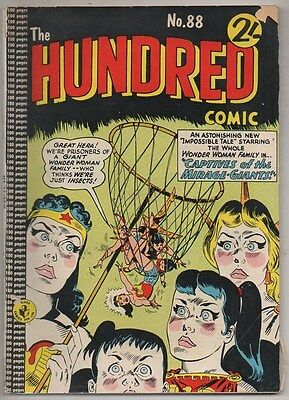 HUNDRED COMIC  No 88 COLOUR COMICS VG/ FINE 1950s