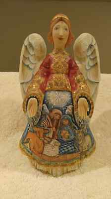 G. DeBrekht DerEvo Collection Limited Edition Nativity Angel, #408/1,500 W/ Box