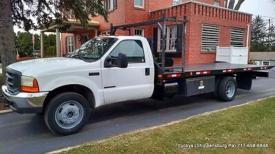 Ford F550 Rollback DIESEL 7.3 18' Century Flatbed 122,915 Mile New Inspection