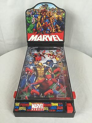 RARE! 2006 Marvel Heroes Table Top Pin-Ball Game Collectable Good Condition!