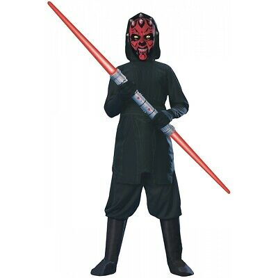 Darth Maul Costume Kids Star Wars Halloween Fancy Dress