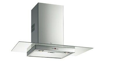Cooker Hood chimney Teka DGE 90 Glass 5 Years guarantee Normal Price £199