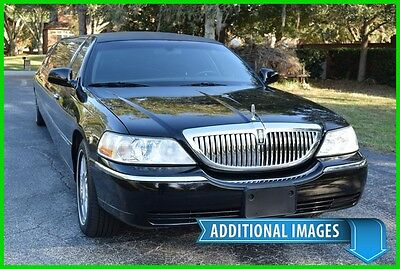 "2007 Lincoln Town Car 120"" STRETCH LIMO - 40K MILES! - BEST DEAL ON EBAY Limousine mercedes benz sprinter taxi cab mkt xts cadillac escalade esv hummer"