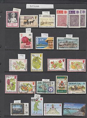 "£1.49 start - A group of ""BERMUDA"" issues, includes  (1986- 2002)"