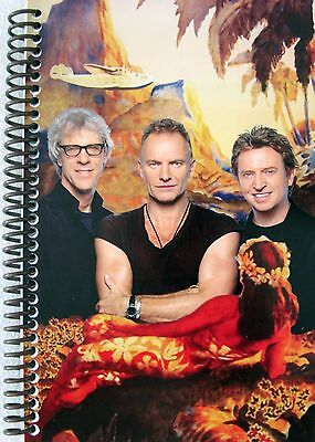 Police Reunion Tour Itinerary 2008 Pacific  - Sting Andy Summers Stewart Copelan