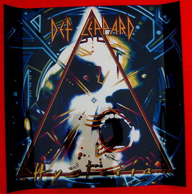 Def Leppard 1988 Hysteria LIGHTBOX TRANSPARENCY mint condition unused