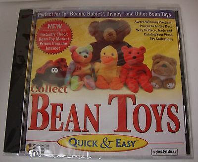 Collect Bean Toys - Perfect for TY Beanie Babies, Disney and other Bean Toys CD