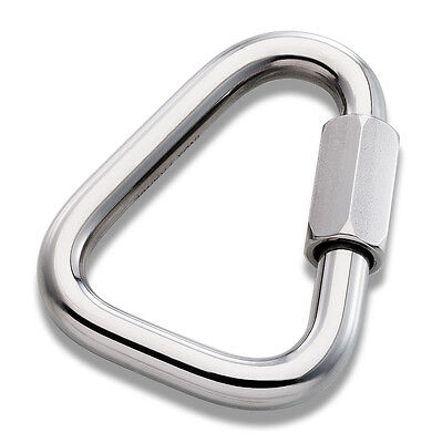 Delta (Triangle shaped) Maillon Rapide / Quick link, Hanger, 4mm-16mm Petzl PPE
