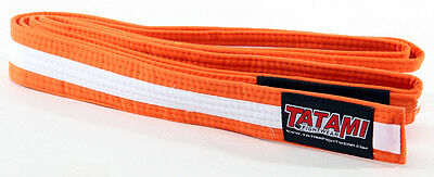 Tatami Fightwear Kids BJJ Rank Orange/White Belt