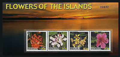 Micronesia 649 MNH Flowers of the Islands