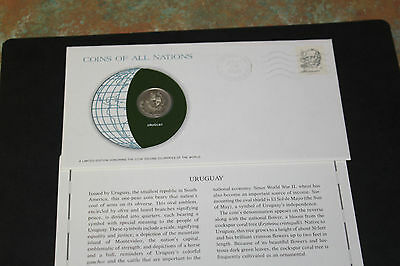 Uruguay Coins Of All Nations 1980 1 Peso Coin Unc