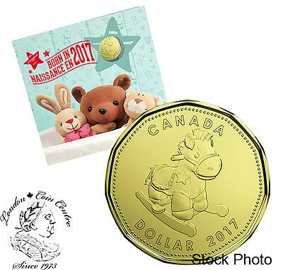 Canada 2017 Baby Gift Coin Set with Special Loonie